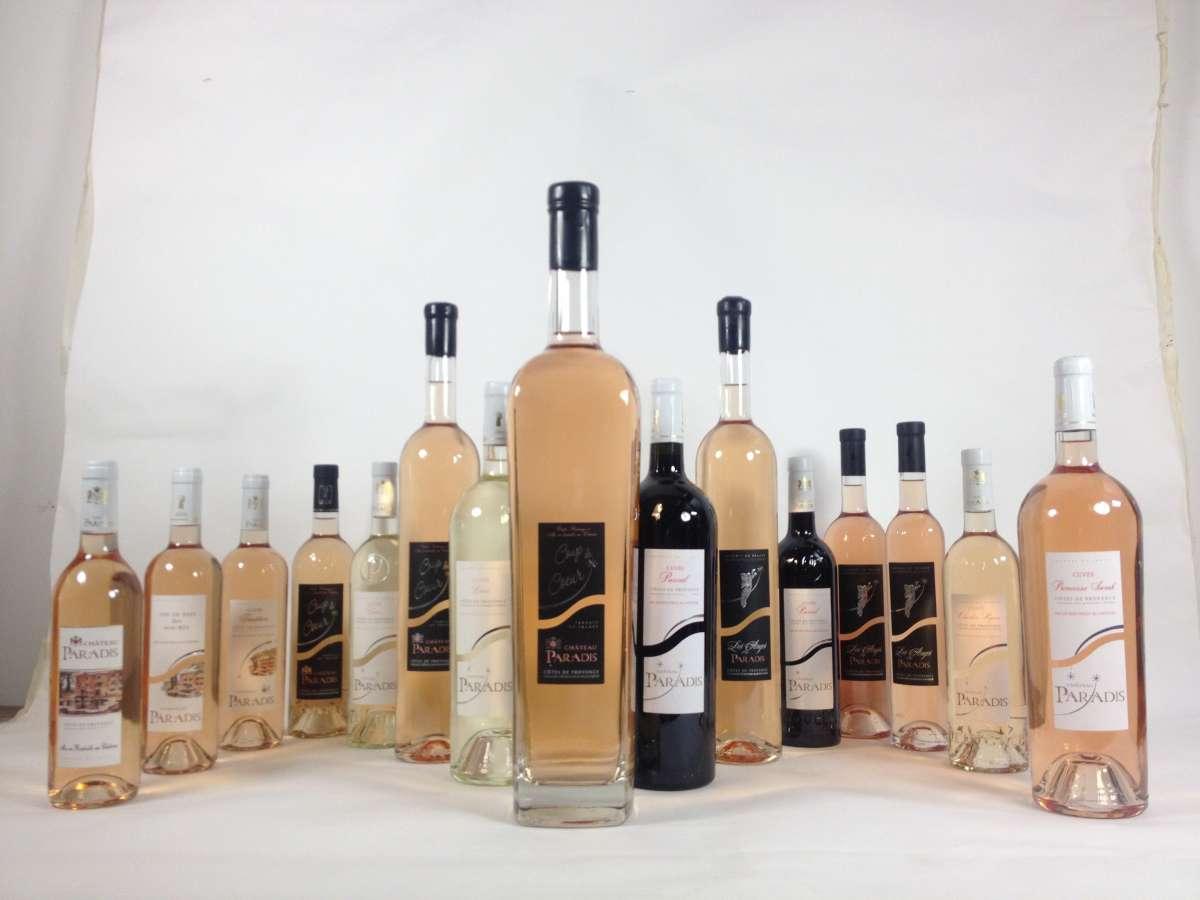 Vente en ligne de vins Côtes de Provence