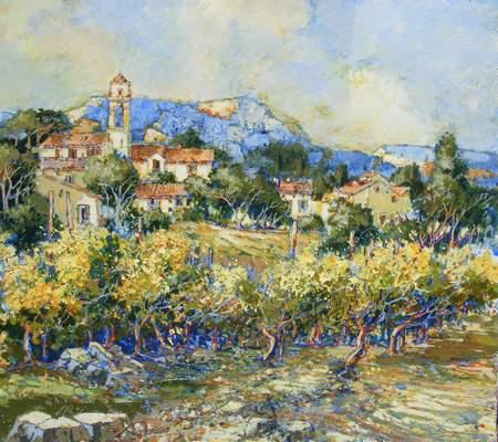 Exposition de tableaux de l'artiste-peintre Michel Moreau