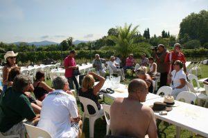 Journée de clôture Art et Vin 2014