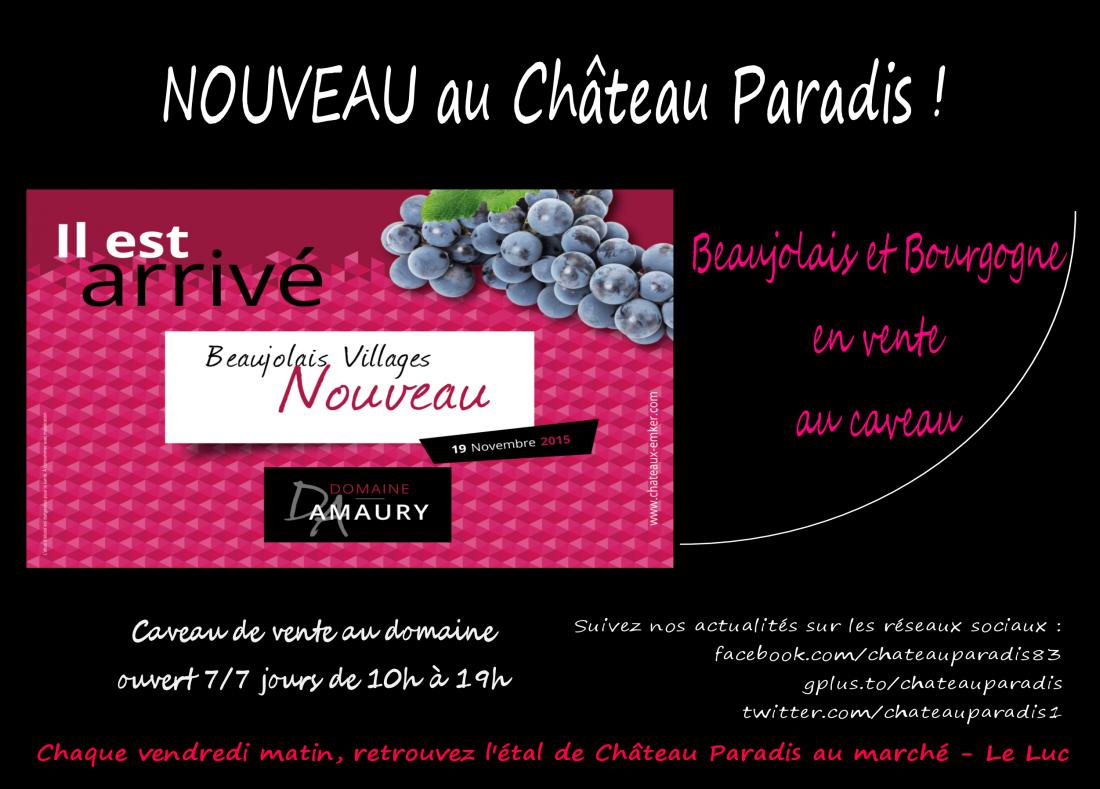 Le beaujolais s'invite en Provence