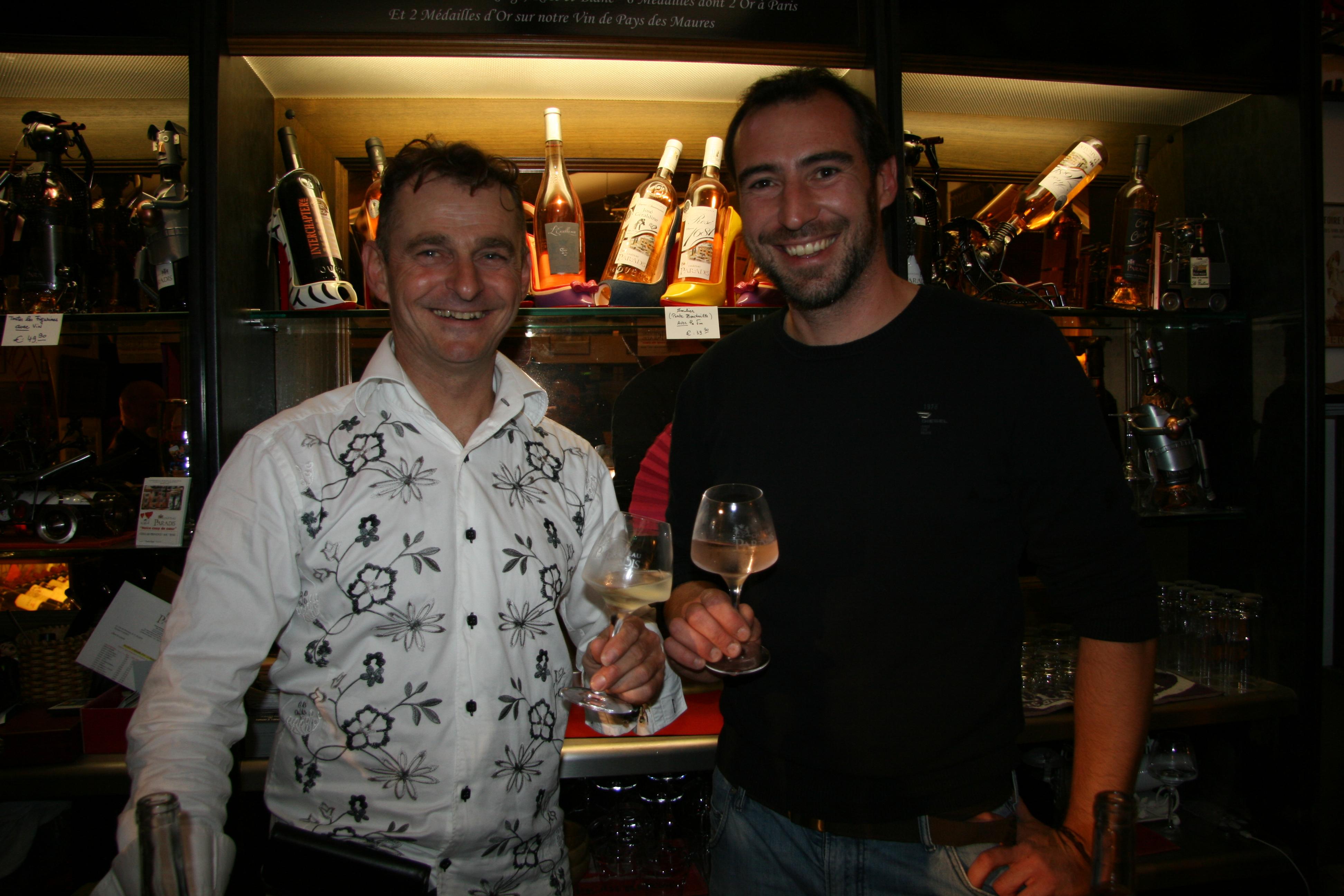 Dégustation du vin nouveau cuvée 2016