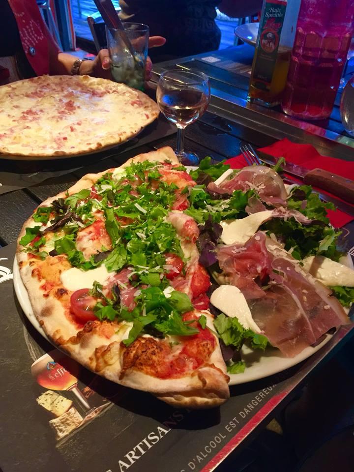 Pizza fraîcheur